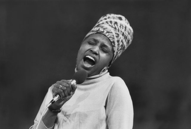 Miriam Makeba. Archive photo