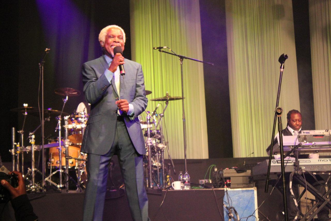 IN SONG: Billie Ocean at the 2014 Standard Bank Joy of Jazz. By Vusi Masilela