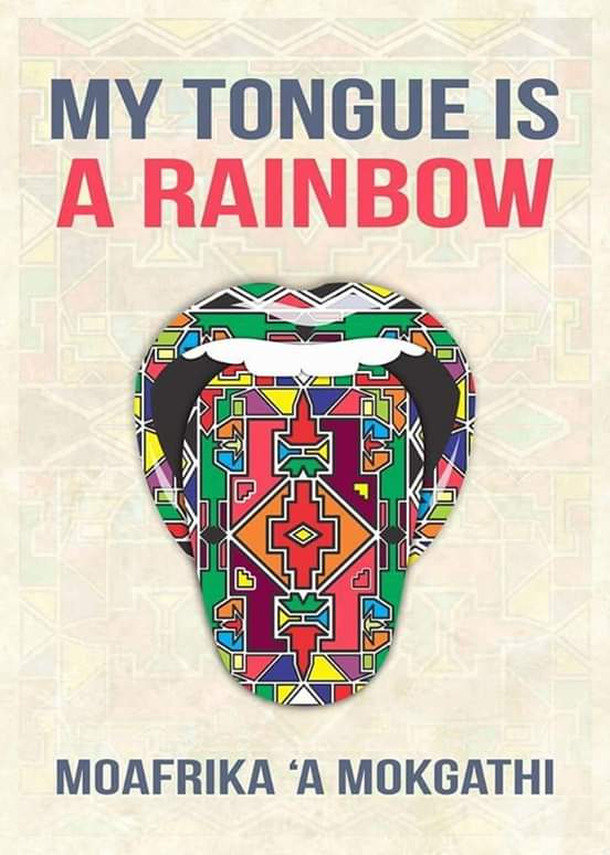 Cover of MoAfrika's book. Photo supplied