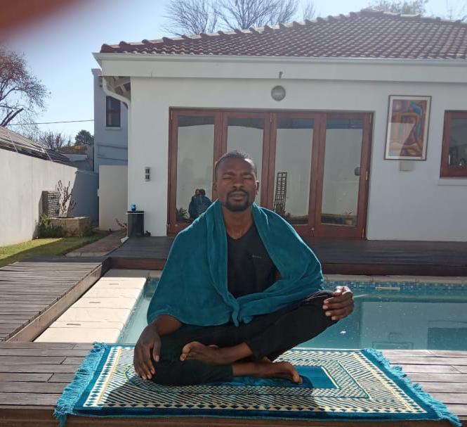Zain Nyabvure focusing his energy. Photo supplied