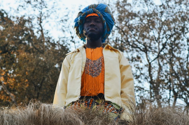 Thoba Ndlovu, the modern Black Moses. Photo by Amun Sun