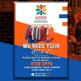 Umzekelo Community Development Organisation clothing drive.