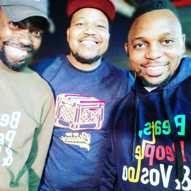 THE CLIQUE [from L-R]: DJ BlaQt, DJ Medicine and Backdraft. Photo by Backdraft