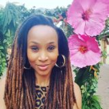 Clair Mawisa with her well-taken care of locks. Clair Mawisa Twitter.