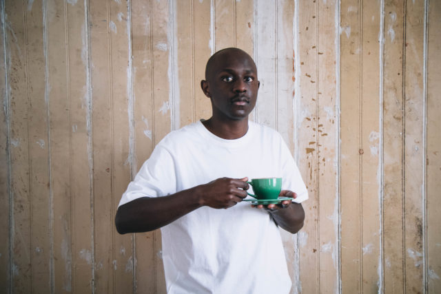 The Man holding the cup, Jabulani Majola. Photo by Zoe Hibbert.