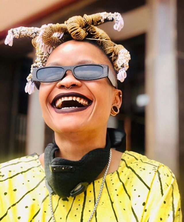 ALL SMILES: Noluthando Lobese. Photo by Zac Modirapela