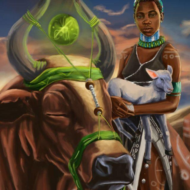 Inkomo Ka Mtungwa by Nkosana The Art.